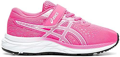 ASICS Unisex-Kinder Pre Excite 7 Ps Leichtathletik-Schuh, Heisses Rosa/Weiss, 35 EU