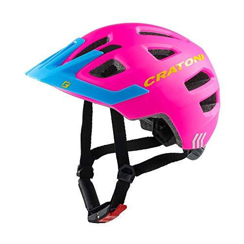 703512VAR - Casco bicicleta ciclismo niño infantil MAXTER PRO COLOR ROS/AZU TALLA...