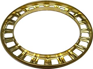 Brass Ball Shade Ring Fitter for Aladdin Lamps - Lamp Shade Holder Part For Ball Glass Shades, Ring Socket, Light Fixture Replacement Parts   LS-171