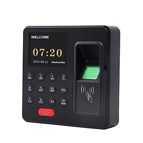 Tid närvaro klocka Elektroniskt tidskortssystem Ställ fingeravtryckssystemet allt-i-ett-kort som swiping närvaro Anställd incheckning inspelare