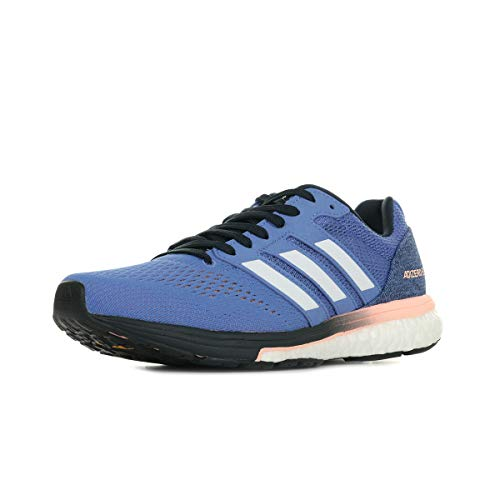 adidas Women's Adizero Boston 7 Training Shoes, Blue (Realil/Ftwwht/Legink Realil/Ftwwht/Legink), 3.5 UK