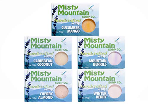 Fruits and Berries Soap Collection by Misty Mountain Soap Company