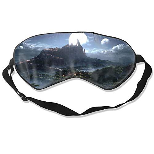 Schlafmaske, Augenbinde, super glatte Augenmaske World Warcraft Warlords Draenor Fantasy
