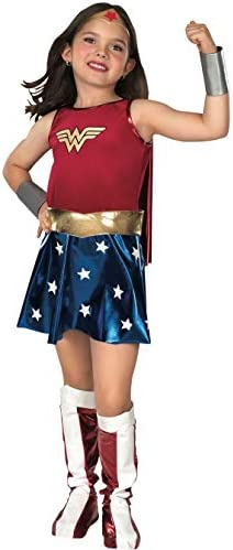 Super DC Heroes Wonder Woman Child s Costume large As Shown Standard Packaging product image