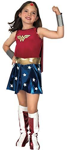 WONDER - Disfraz de mujer maravilla para niña, talla L (8-10 años) (VZ-2240)