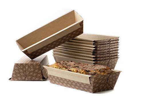 Disposable Bread Loaf Pans for Baking - Medium Kraft Paper - SET of 32
