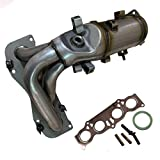 AutoShack EMCC774813 EPA Compliant Exhaust Manifold Catalytic Converter with Gasket Replacement for 2002 2003 2004 2005 2006 Toyota Camry 2002-2008 Solara 2.4L