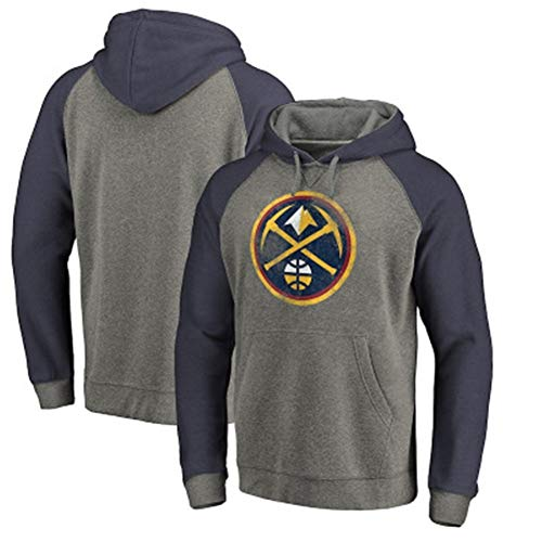 Li Largo Nuggets jugaron la Ropa de Entrenamiento pequeños suéter con Capucha Ropa de Abrigo Keech Thomas (Color : 1, Size : XL)