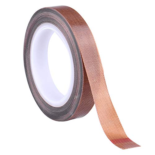 Teflon Tape/PTFE Tape for Vacuum Sealer Machine,Hand and Impulse Sealers (1/2-inch x 33 Feet)-Suitable for FoodSaver, Seal A Meal, Weston, Cabella's and Many More