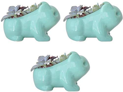 Katzen-Übertopf Frosch Pflanzgefäß Keramik Blumentopf Tier Pflanzgefäß Kinderzimmer Pflanzgefäße Cartoon Pflanzgefäße Keramik Pflanzgefäß Kreative Stifthalter Desktop Decor Zubehör