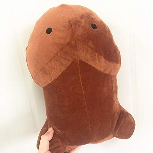 N / A 30cm süßes Plüschtier-Kissen-weiches gefülltes lustiges Kissen Simulation reizendes Puppen-Geschenk für Freundin 30CM