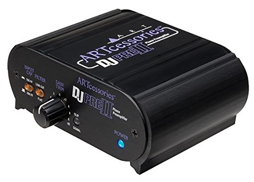 ART DJPREII Phono Preamplifier