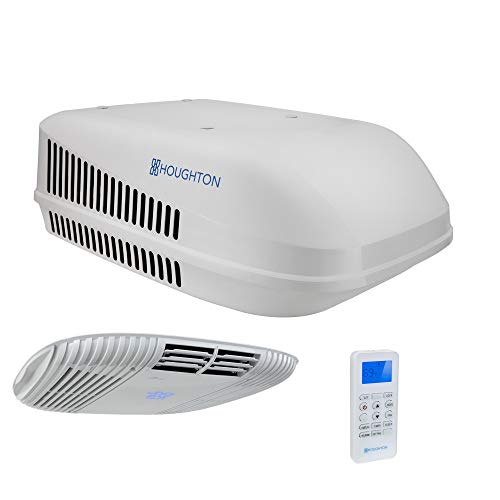 RecPro RV Air Conditioner 15K | With Heat Pump for Heating or Cooling Option | RV AC Unit | Camper Air Conditioner (White)
