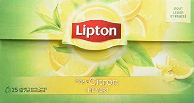 Lipton Thé Vert Citron 25 Sachets parent