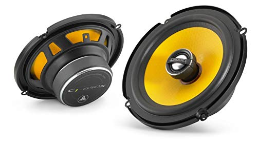 JL Audio C1-650x 6-1/2' 2-Way Coaxial Car Audio Speakers