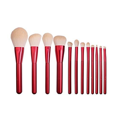 Sets de pinceaux de maquillage 12 pièces de maquillage ensemble pinceau ensemble pinceau de maquillage ensemble complet de pinceau fard à paupières brosse de poudre en vrac brosse de maquillage portab