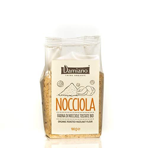 Farina di Nocciole Tostate Biologiche - Senza Glutine e Vegan Friendly - Sacchetto da 100g