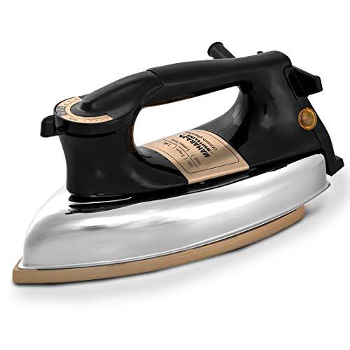 Maharaja Whiteline Heavy Weight Classico Plancha 1200-Watt Dry Iron (Black)