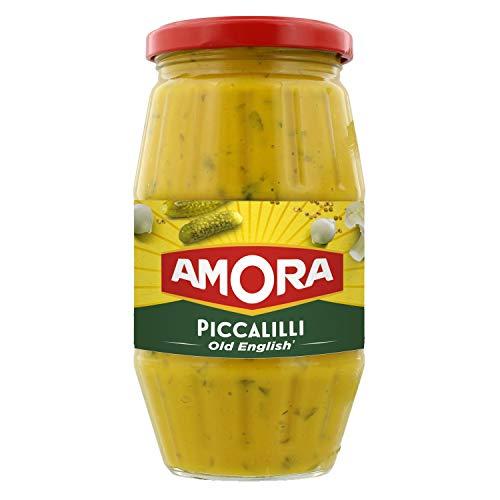 Amora PICCALILLI Senfgemüse 435 g Glas nach englischer Art