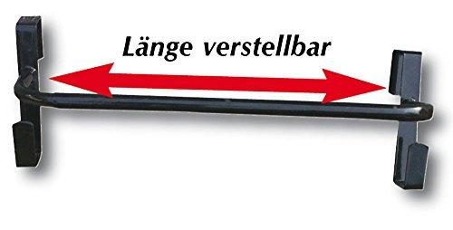 AMKA Pferdedeckenhalterung Länge VERSTELLBAR Schabrackenhalter Deckenhalter