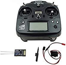 Accessories Original Futaba T6K T-FHSS Air 2.4Ghz 6CH S.Bus Transmitter 6J Upgraded with R3006SB Receiver EMS Shipping - (Color: Mode 2)