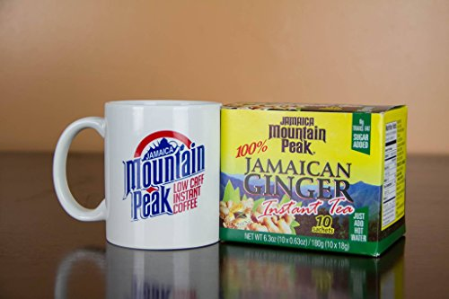 Jamaica Mountain Peak Ginger Instant Tea 10 Sachets