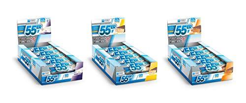 FREY Nutrition 55er Proteinriegel, 20 Riegel (20 x 50 g) - Mix-Box
