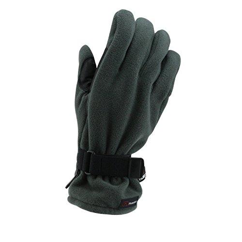 Guantes Roeckl Polartec Negro 1137, handschuhgröße:9 1/2