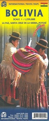 Topographische Karte Bolivia 1:1250000