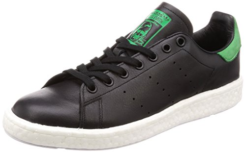 adidas Originals Stan Smith Boost - Zapatillas de piel para hombre, color negro, color Negro, talla 37 1/3 EU ⭐