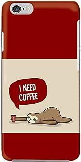 [bodenbaum] isai vivid LGV32 ハードケース LG エルジー イサイ ビビッド au スマホケース 珈琲 ナマケモノ コーヒー hard-d240 (B.レッド)