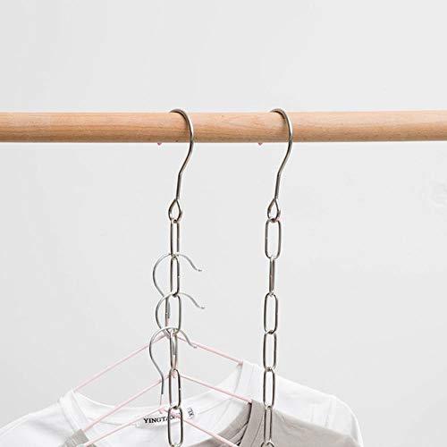 Y-F Multifunktionshemden Kleiderbügelhalter Platz sparen rutschfeste Kleidung Veranstalter Praktische Gestelle Kleiderbügel Вешалка для вешалок
