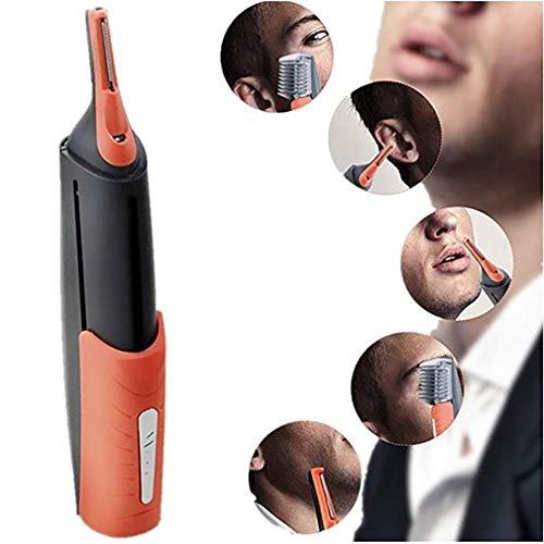 Dual End Tondeuse Clipper Micro Barbe Personnelle Cheveux Tondeuse Tondeuse Rasoir Toilettage Anti-Dérapant Poignée De Contrôle LED Lumière