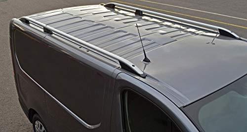 ALVM Parts Accessories Aluminio barras de techo carriles laterales Barras Conjunto de encajar L1H1 Trafic (2014+)