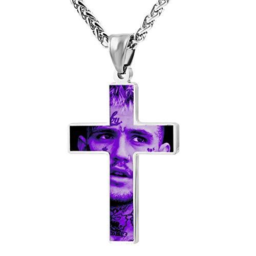 812 L-il p-eep Crucifix Pendant Necklace Amulet Ornament Necklace