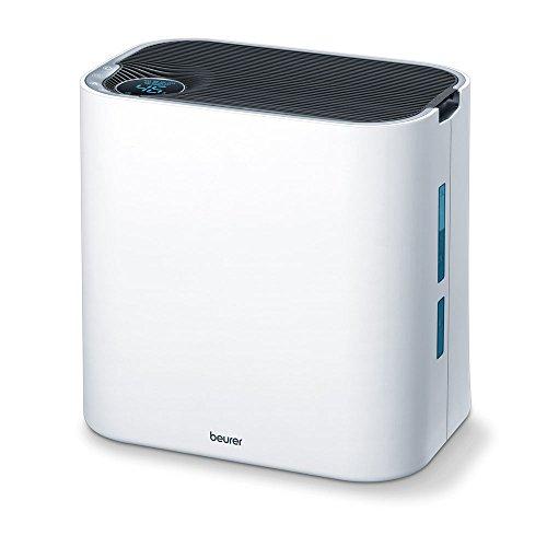 Beurer LR 330 Komfort-Luftreiniger, Luftreinigung und Luftbefeuchtung in einem, ideales Raumklima für Allergiker