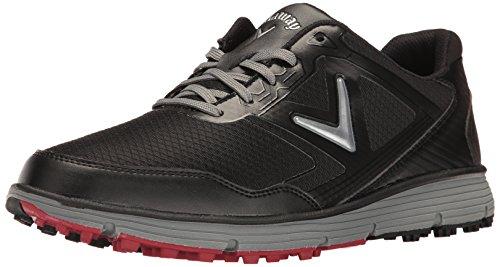 Callaway Balboa Vent Spikeless Golf Shoes Black/Grey 11 Wide