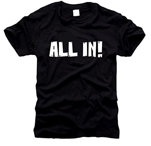 shirtstore All in – T-Shirt pour Homme, Taille XXL