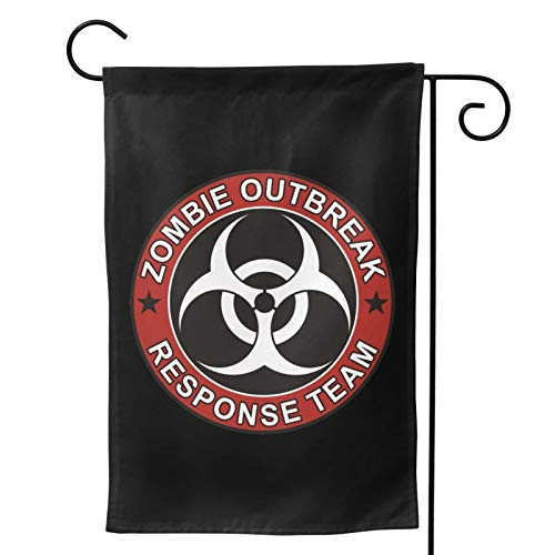 CMVBI Zombie OutbreakResponseTeam Garden Flag Vertical Double Sided, Seasonal Yard Outdoor Flag,...