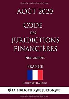 Code des juridictions financières (France) (Août 2020) Non annoté