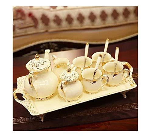 No logo XY-YZGF El Sistema de té de cerámica Europea de Estar de decoración de Interior, Mover a la Nueva casa, nuevos Regalos Regalos de Boda, Creativas y prácticas