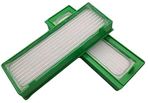 FBUWX Piezas de Repuesto para aspiradora,filtros Aptos para aspiradoras robóticas Vorwerk Kobold VR200,Suministros para el hogar,Accesorios para aspiradoras(Color:4 Piezas) Eficiente (Color : 4pcs)