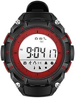 JIAYOUNX Fitness Tracker,Elegante Reloj De Pulsera De Bluetooth Impermeable Calendario,Pasos Registro,Consumo De Calorías,Récord De Distancia De Caminar,Alarma De