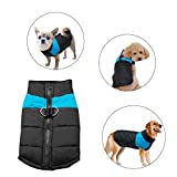 Didog Cold Weather Dog Warm Vest Jacket Coat,Pet Winter Clothes for Small Medium Large Dogs,8, Blue,4XL Size