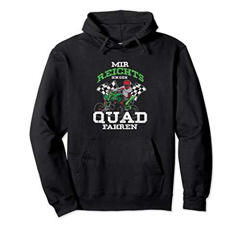 Quad Fahren Quads Quadfahrer Motocross ATV Geschenk Pullover Hoodie