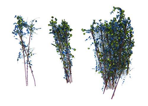 Green Stuff World - Tall Shrubs Blue-Green