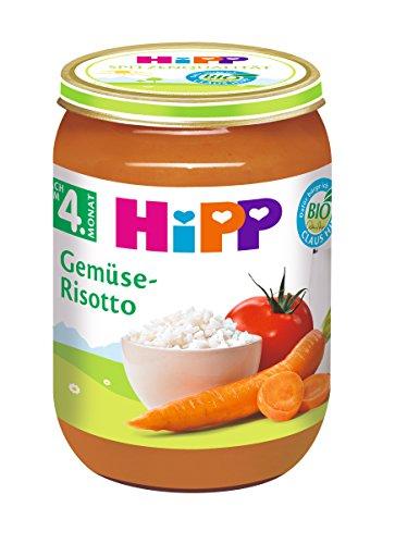 HiPP Gemüse-Risotto Bio, 6er Pack (6 x 190 g)