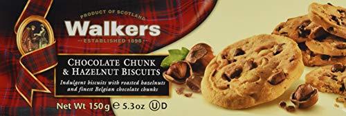 Walkers Chocolate Chunk und Hazelnut Biscuits, 1er Pack (1 x 150 g)