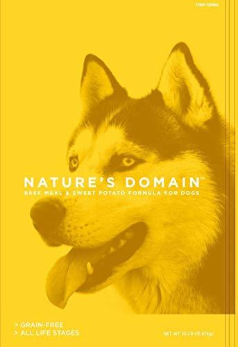 Kirkland Signature Nature's Domain Beef Meal & Sweet Potato Dog Food 35 lb.