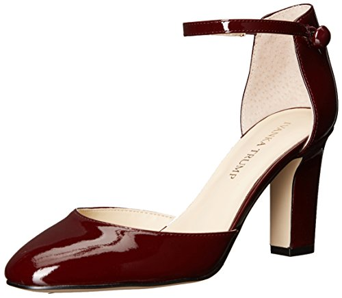 Ivanka Trump Women's Berea Pump, Dark Red Patent, 9 Medium US